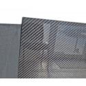 "Carbon fiber sheet 50x100 cm, thickness 0.5 mm (0.0196"")"