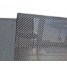 "Carbon fiber sheet 100x100 cm, thickness 7 mm (0.275"")"