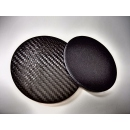 Drink / glass carbon fiber coasters - 2 items