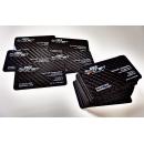 Carbon fiber business cards manufacturer