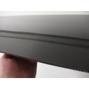 Carbon fiber sheets with honeycomb core