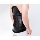 Carbon fiber back brace support orthoses