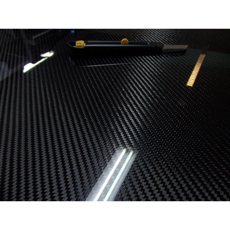 Carbon fiber sheet 50x100 cm, thickness 1 5 mm (0 059