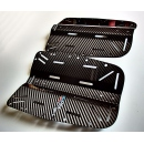 Carbon fiber scuba diving backplate
