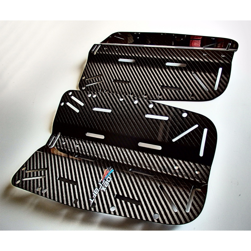 Ultra Lightweight Carbon Fiber Diving Backplate Dexcraft