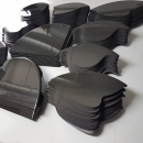 Wheelchair carbon fiber fenders