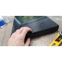 Thick carbon fiber sheets