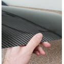 "Carbon fiber veneer - thickness less than 0.5 mm (0.0196"")"