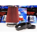 Cone air filter 65-77mm