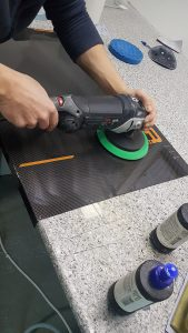 Carbon fiber covers for portable x-ray scanners