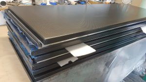 Carbon fiber tables topboards for x-ray