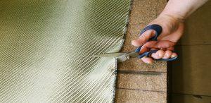 Cutting kevlar, cutting aramid composites