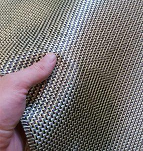 Kevlar & carbon hybrid composites properties