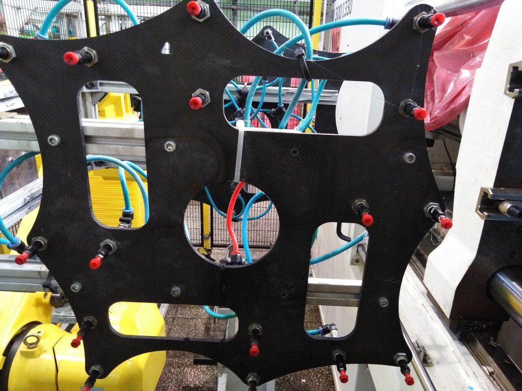 Carbon fiber lightweight grippers