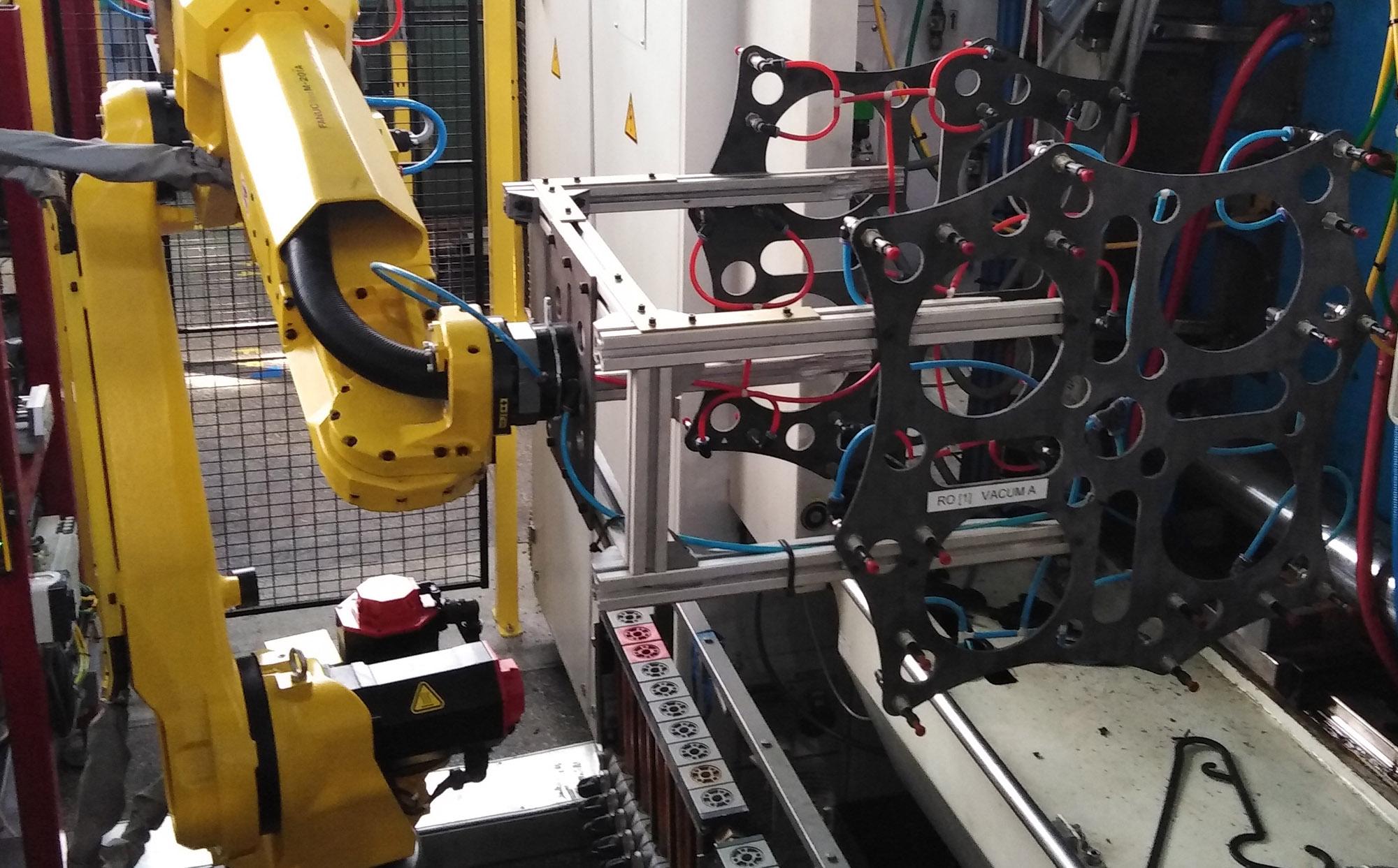 lightweight robot grippers, carbon fiber gripper