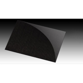 "Carbon fiber sheets - thickness 2.5 mm (0.098"")"