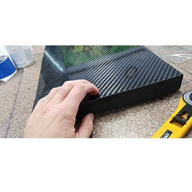 Thick carbon fiber sheets - more than 7 mm