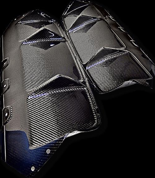 Carbon fiber rear diffuser manufacturer