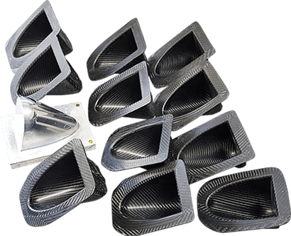 molds for carbon fiber parts, plug and tools for manufacturing carbon fiber parts