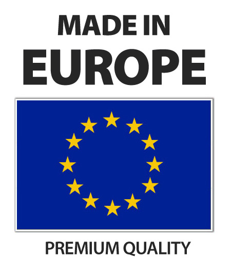 Scuba backplate made in Europe
